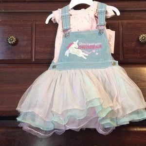 Baby unicorn dresssize24m